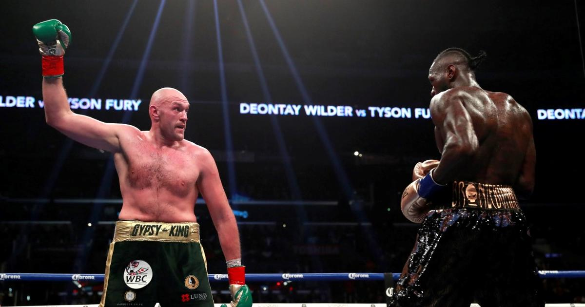 Abu Dhabi boxes clever over Fury v Wilder rematch speculation