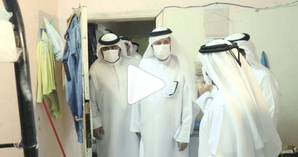 Video: Bachelors evicted from family area in Sharjah after woman complains – News