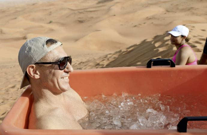 UAE: Now, boost your immunity with an ice bath in the hot desert – News
