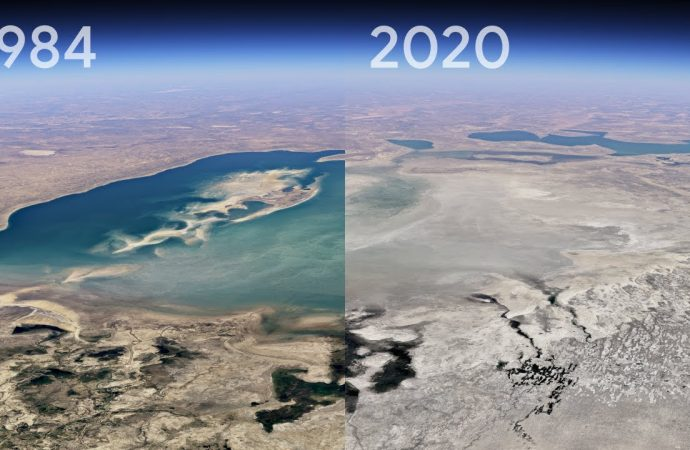 Google Earth Timelapse is its biggest feature update in years