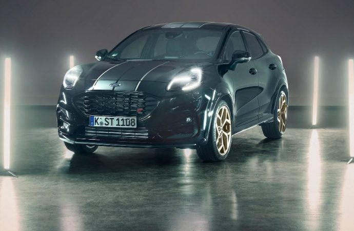 This Ford Puma ST Gold Edition was created with help from fans
