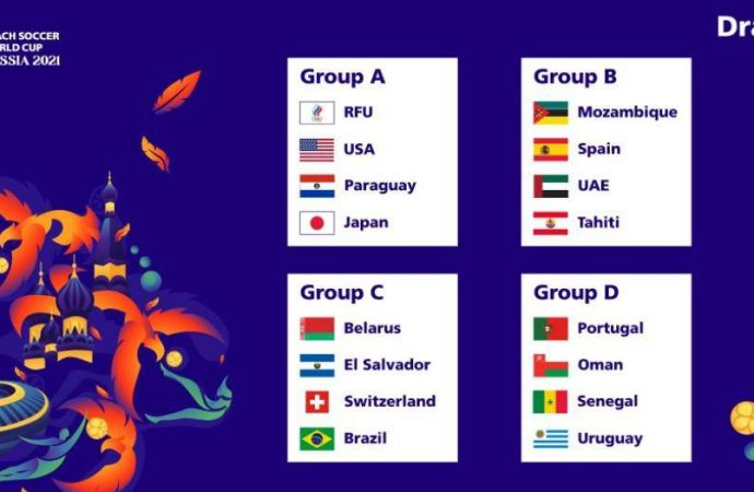 UAE to face Mozambique, Spain and Tahiti in Beach Soccer World Cup – News