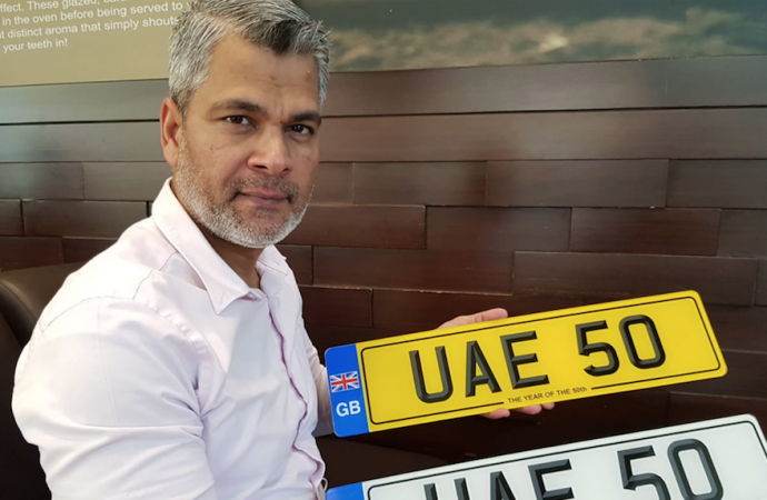 'UAE 50' number plate set to fetch record price – News