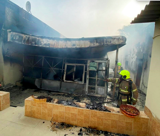 Dubai: Firefighters rescue family of 12 after fire breaks out in home – News