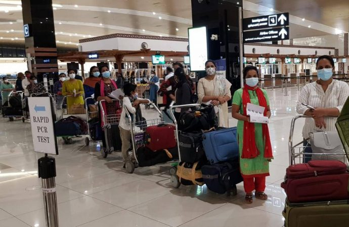 India-Dubai travel: 95 healthcare workers arrive on special flight – News