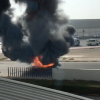 Dubai: Car goes up in flames in Al Quoz 1 area – News