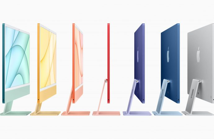 Apple updates iMac with vibrant colours and M1 chip