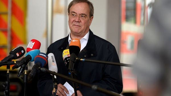 German chancellor candidate Armin Laschet 'sorry' after flood zone laughter