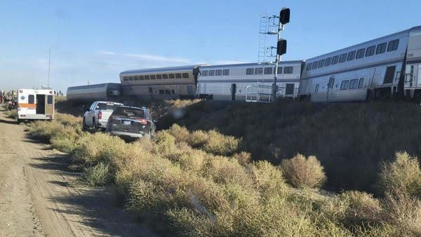 At least three dead after train derails in Montana, US