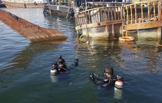 UAE: Sunken ship weighing over 90 tonnes recovered from Dubai Creek – News