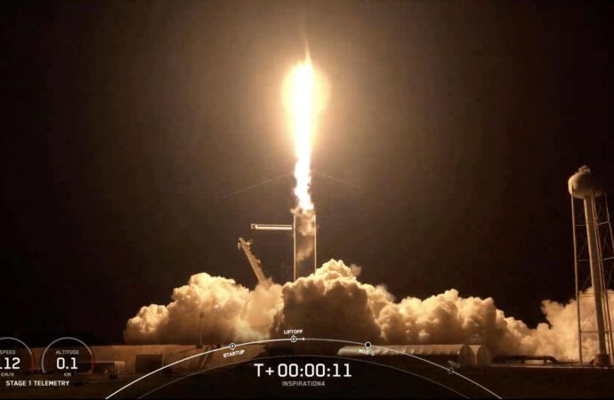 Video: SpaceX launches 4 civilians on private Earth-circling trip – News