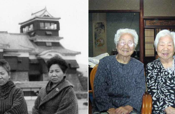 Photos: 107-year-old Japanese twins certified as world's oldest – News