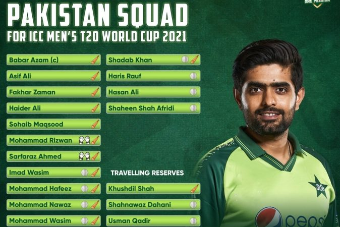 T20 World Cup: Fakhar, Sarfaraz and Haider Ali included in Pakistan's final squad – News